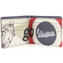 Vespa vintage Portemonnee met opdruk (wit)