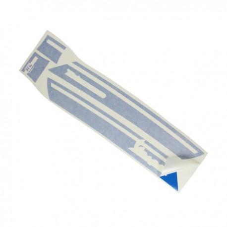 Vespa Primavera Stickerset zijscherm blauw