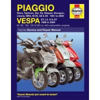 Haynes Werkplaatshandboek Vespa ET/LX/LXV/S/GT/GTS/GTV