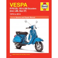 Haynes Werkplaatshandboek Vespa P/PX
