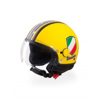 Vespa Helm V-Stripes geel
