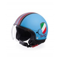 Vespa Helm V-Stripes blauw