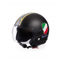 Vespa Helm V-Stripes zwart