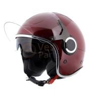 Vespa Helm VJ rood Must 880