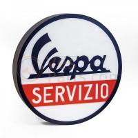 Vespa Servizio Led light sign