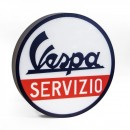 Vespa Servizio Led light sign