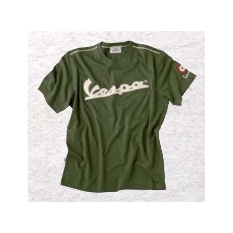 T-shirt vespa heren (groen)