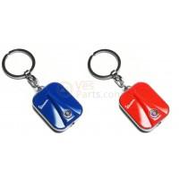 Sleutelhanger Vespa Front LED rood, blauw