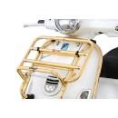 Voordrager opklapbaar Vespa Primavera/Sprint goud