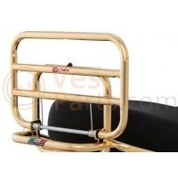 Achterdrager opklapbaar Vespa LX/LXV 50-150cc goud FACO