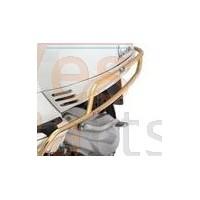 Valbeugel achter Vespa LX/LXV/S 50 -150ccm FACO goud