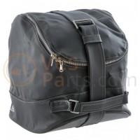 De originele Vespa tas, exclusief ontworpen voor de Vespa 946 3V i.e. 125ccm, kunstleer, grijs