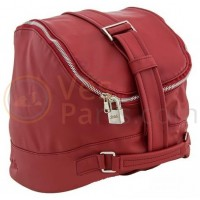 De originele Vespa tas, exclusief ontworpen voor de Vespa 946 3V i.e. 125ccm, kunstleer, rood