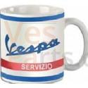 Mok Vespa Servizio wit