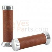 Handvatset Origineel voor Vespa ET2/ET4/LX/LXV/S/Primavera /Sprint 50-150ccm, bruin
