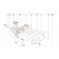 07: Slangpilaar Luchtfilter Vespa LX/LXV/S/Primavera 50 2T/Sprint 50 2T
