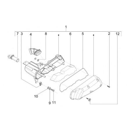 07: Slangpilaar Luchtfilter Vespa LX/LXV/S