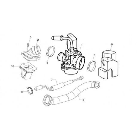 09: Carburateurkoelkap Nsl Fcs Tec ET2/LX/LXV/S