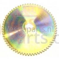 06: Starterkrans/Poelie C13-C18-C25-C27-C28 Vespa ET2/ET4/LX/LXV/Primavera/Sprint