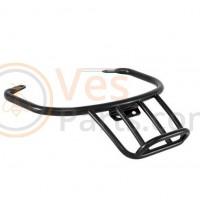 Bagagedrager glanszwart voor Vespa GTS/GTS Super/GTV /GT 60/GT L 125-300ccm 4T LC, zwart