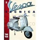 Vespa Tecnica boek 2: 1956 t/m 1964