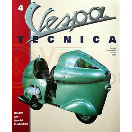 Vespa Tecnica boek 4: Records and Special Production