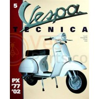 vespa Tecnica boek 5: 1977 t/m 2002