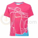 Vespa Young Kid T-shirt Roze/Blauw