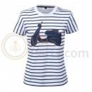 Vespa Grafische T-shirt Wit/Grijs