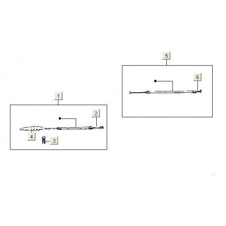 Koppelingskabel V5X-VMX-V9X PK50 compleet
