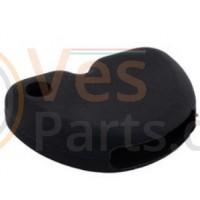 Vespa Sleutelovertrek Zwart Silicone