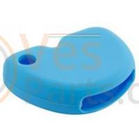 Vespa Sleutelovertrek Blauw Silicone