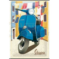 Metalen Vespa Bord Scooter