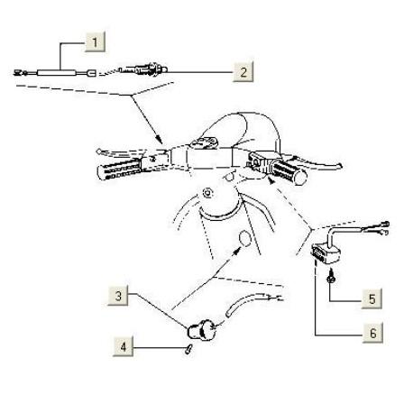 Kabel Microswitch V5X