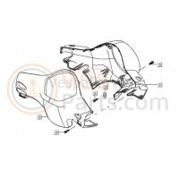 03/06: Plaatmoer (Speednut) en plaatschroef Stuurbekleding