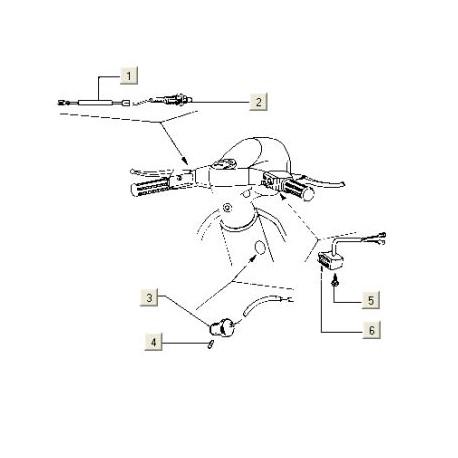 Stekker Contactslot electra (2-POLIG)Pk50/lusso/PX80-200/T5