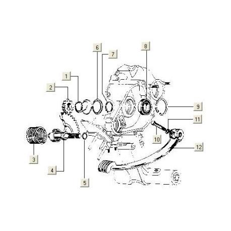 Tandwielas Kick V5X3/VMX5
