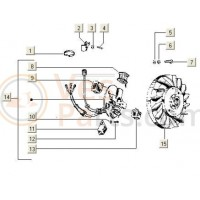 Vliegwiel Lichtspoel V5X 3T