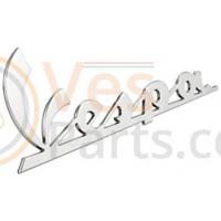 Embleem Chroom Zilver Vespa GTS 125,250,150,300