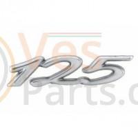 Embleem 125 Chroom Vespa GTS 125