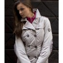 Jacket Technical Trench dames (roze)