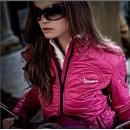 Jacket Stitched dames (zwart, roze, groen)