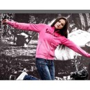 "Vest ""Full Zip"" dames (zwart, roze, wit)"