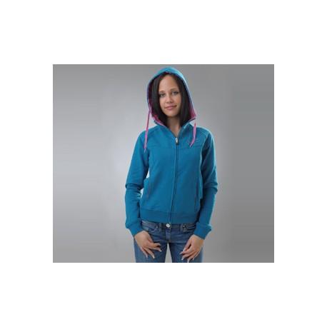 Vest Degrade dames (groenblauw)