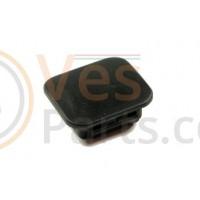 05: Frameplug (Vierkant) Vespa LX/LXV/GTS