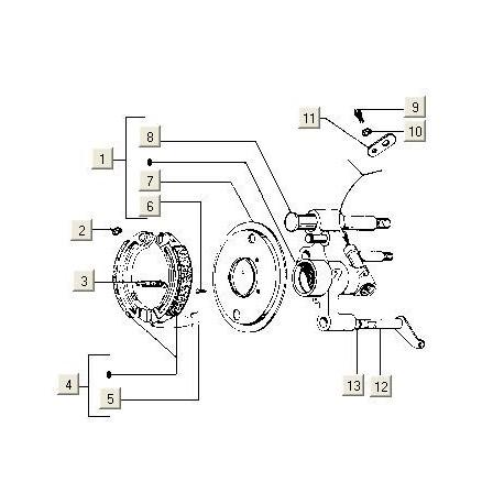 Schommelas Voorvork V5X2 PK50