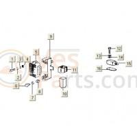 Remlichtschakelaar V5X-VMX-VSX PK50