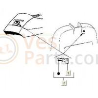 Cylinderslotenset contactslot PK 50