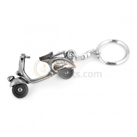 Mini 3D Vespa sleutelhanger