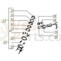 Stuurslothuis NSL-NSP-FCS-V5P PK50